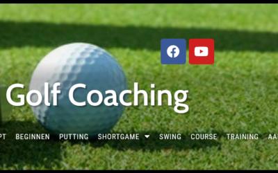 Website voor Modern Golf Coaching