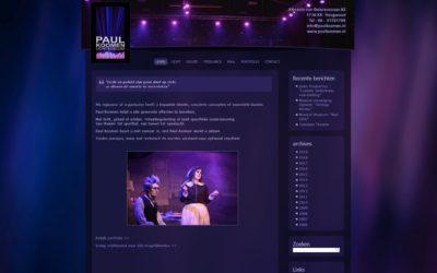 Website en logo Paul Koomen Licht & Geluid