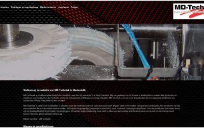 Website voor MD-techniek – Medemblik