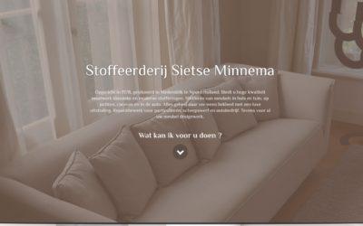 Website voor Sietse Minnema